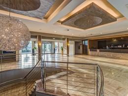 La reception de l'hôtel Blau Privilege PortoPetro aux Baléares