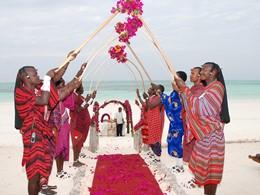 Mariage dans un cadre unique