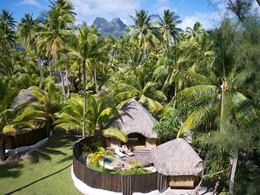 Garden Pool Villa du Bora Bora Pearl Beach Resort en Polynésie