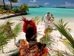Mariage au Bora Bora Pearl Beach Resort situé en Poynésie
