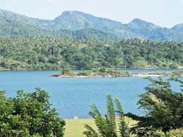 Vue du lac Victoria depuis l'hôtel Bougainvillea Retreat
