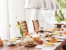 Petit déjeuner de l'hôtel Bougainvillea Retreat