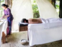 Spa de l'hôtel 4 étoiles Bougainvillea Retreat à Kandy