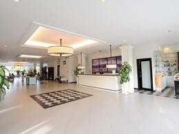 Le lobby de l'hôtel Boutique Hoi An au Vietnam