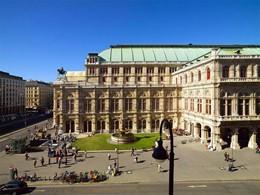 Vue de l'opéra d'état de Vienne