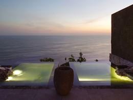Bain à remous du Bulgari Resort, à Jimbaran