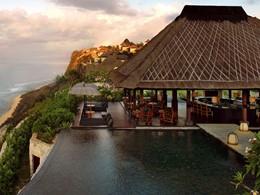 Il Bar de l'hôtel Bulgari Resort, à Jimbaran