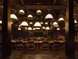 Le restaurant The Sangkar du Bulgari Resort