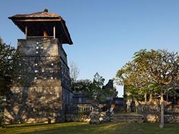 Le temple de l'hôtel Bulgari Resort à Jimbaran