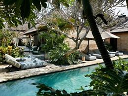 Vue exterieure de la 2 BR Ocean View Villa