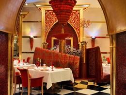 Le restaurant Al Iwan