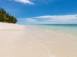 La superbe piscine du C Mauritius à Palmar