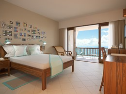 Prestige Beachfront Room de l'hôtel C Mauritius