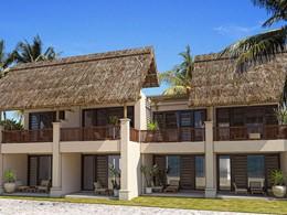 Vue extérieure des chambres de l'hôtel C Mauritius
