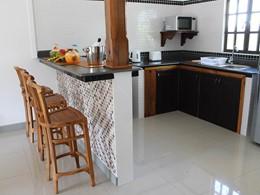 La cuisine d'un des appartements
