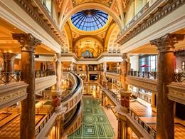 Les boutiques de luxe du Caesars Palace à Las Vegas