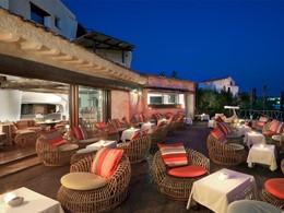Le bar Pontille de l'hôtel Cala di Volpe