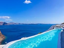 Magnifique piscine de l'hôtel
