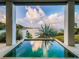 Profitez des sublimes piscines des suites du Cap Est Lagoon