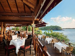 Le restaurant Cliff at Cap du Cap Maison aux Antilles