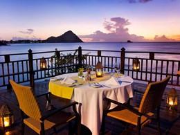 Dîner romantique face à l'océan au Cap Maison