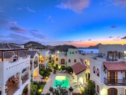 Vue de l'hôtel Cap Maison situé aux Antilles