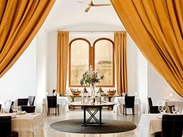 Restaurant The Fortress du Cap Rocat aux Baléares