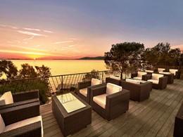 Contemplez un magnifique coucher de soleil depuis Capo d'Orso