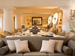 Restaurant L'Olivo de l'hôtel Capri Palace à Naples