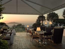 Bistrot Ragù de l'hôtel Capri Palace en Italie