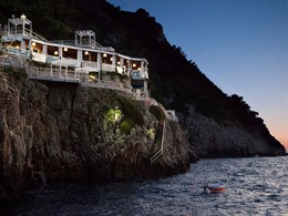 Beach Club Il Riccio de l'hôtel Capri Palace