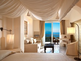 Classic Double Sea Side du Capri Palace en Italie