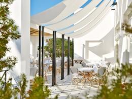 Terrasse du Restaurant Caramel du Caramel Grecotel