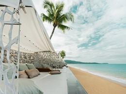 La plage de Khao Lak de l'hôtel Casa de La Flora