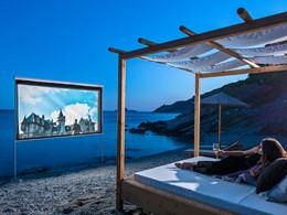 Cinéma en plein air du Casa Del Mar