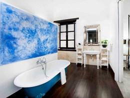La salle de bain de la Luxury Double