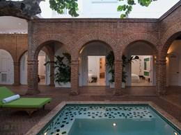La piscine de la Casas del XVI