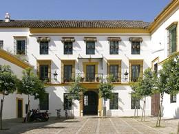 Vue de l'hôtel Casas del Rey de Baeza en Espagne