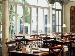 Le restaurant Azahar de l'hôtel Casas del Rey situé en Espagne