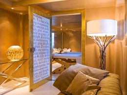 Le spa de l'hôtel 5 étoiles Cavo Tagoo en Grèce