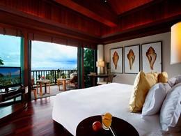 La Villa Royale offrant une vue sur la mer