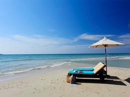 La plage de Klong Prao du Centara Koh Chang Tropicana