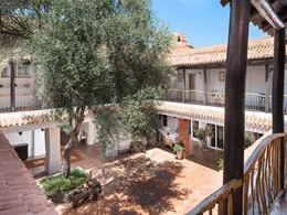 Le patio du Cervo Hotel, Costa Smeralda Resort