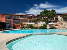 Piscine de l'hôtel Cervo Costa Smeralda en Italie
