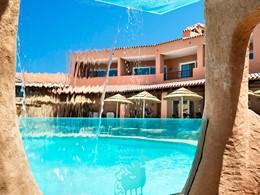 Autre vue de la piscine du Cervo Costa Smeralda