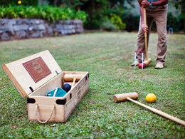 Croquet à l'hôtel Ceylon Tea Trails au Sri Lanka