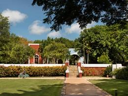 La hacienda Chable est un bâtiment historique situé au Mexique