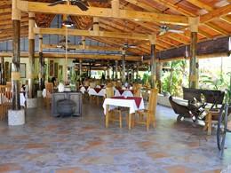 Le restaurant du Château Saint-Cloud à La Digue