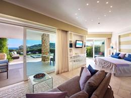 Suite du Chia Laguna Resort en Sardaigne