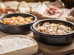 Cuisine traditionnelle savoyarde au restaurant L'Aiguille Rouge du Club Med
